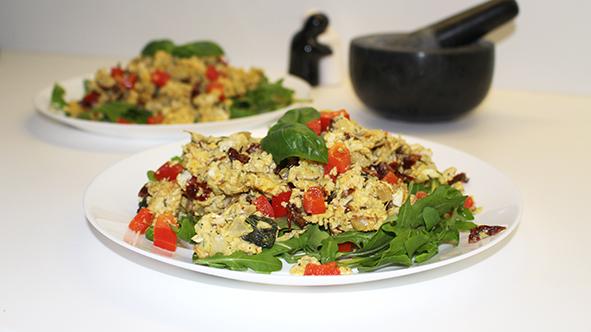 Tofu-Rührei
