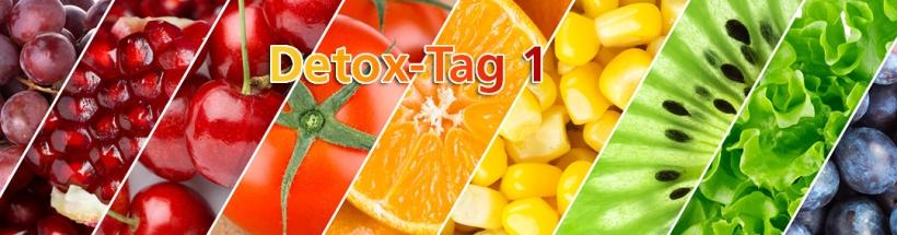 Detox-Tag 1